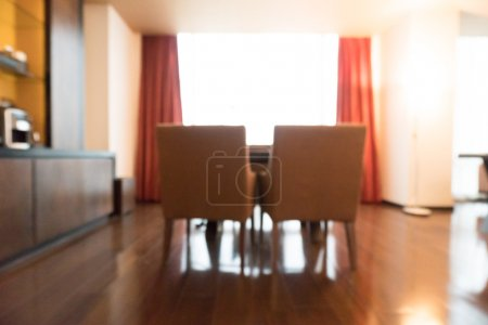 Blur living room