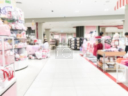 luxury retail and shopping mall interior