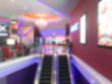 Abstract blur cinema
