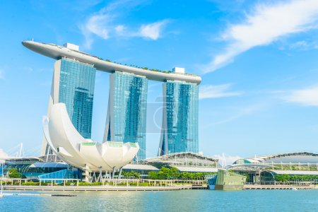 The Marina Bay Sands Resort Hotel in Singapore