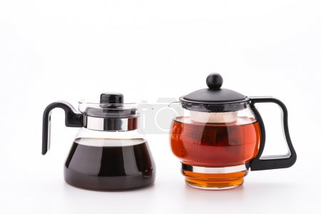 Tea pot and coffee pot
