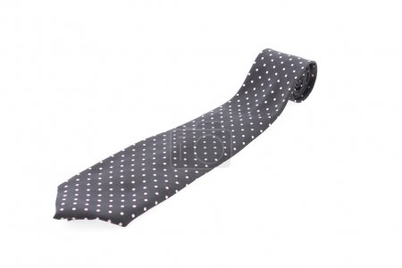 Necktie isolated on white background
