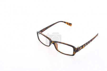 Photo for Eye glasses isolated on white background - Royalty Free Image