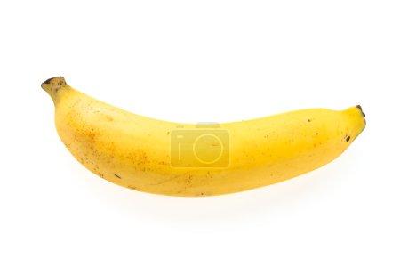Foto de Banana aislado sobre fondo blanco - Imagen libre de derechos