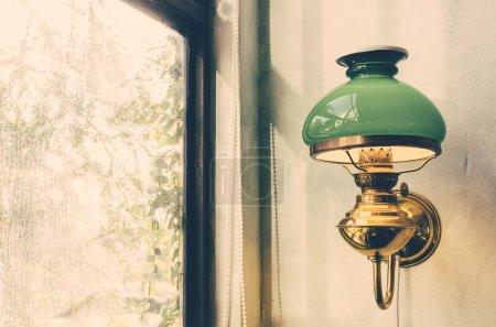 Green retro Lamp