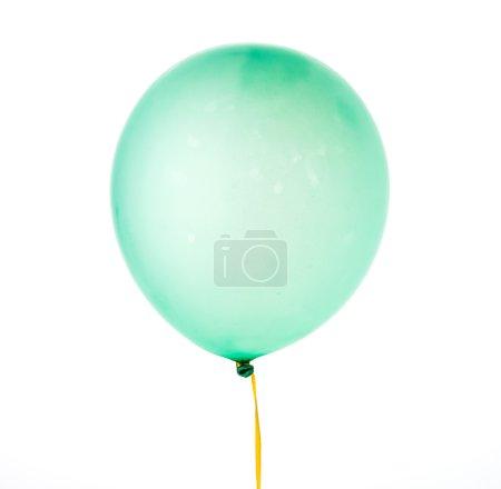 Floating helium balloon
