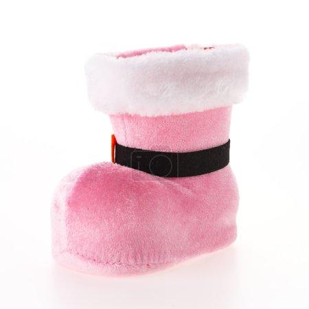 Christmas pink sock