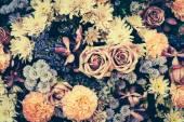 Vintage virágot háttér
