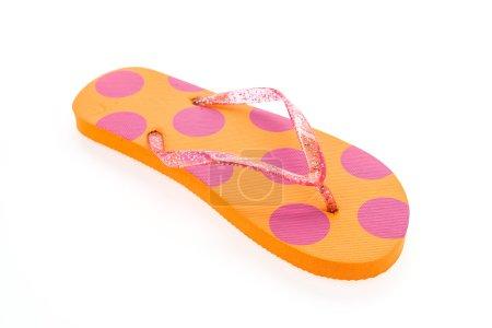 Flip flop fashion plastic shoes
