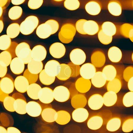 Abstract Gold christmas bokeh