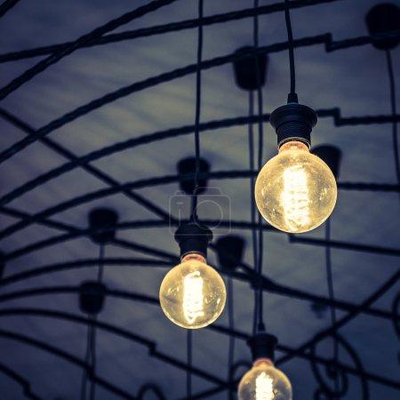 Vintage light lamps