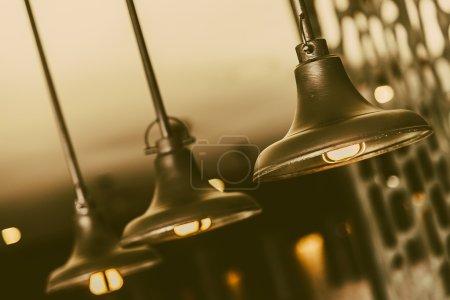 Old vintage lamps