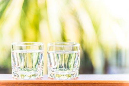 Photo pour Lunettes d'eau douce, traitement des filtres solaires - image libre de droit