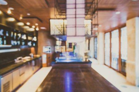 restaurant interior background