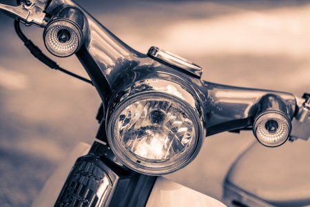 headlight lamp motorcycle