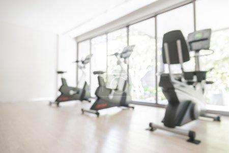 blur gym background