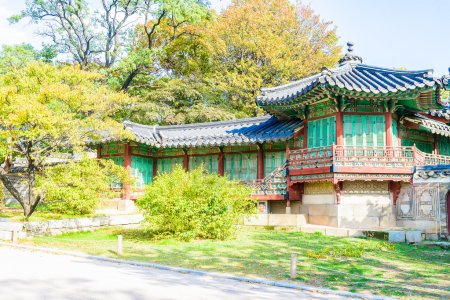 Architecture in Changdeokgung Palace