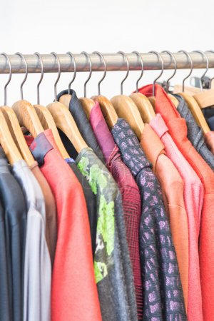 Photo for Beautiful Clothes in shopping store - Royalty Free Image