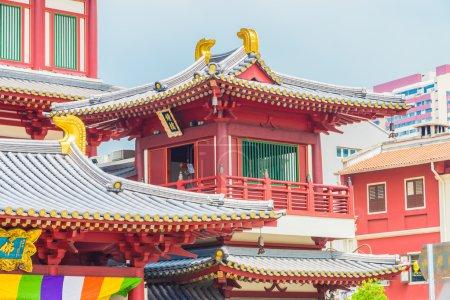 Beautiful Buddha tooth temple