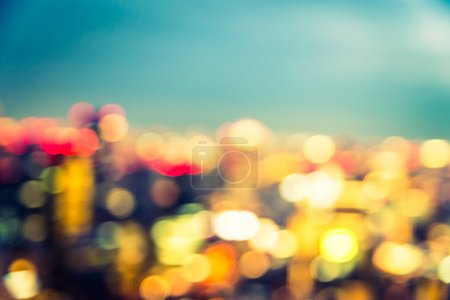 lights cityscape backdrop