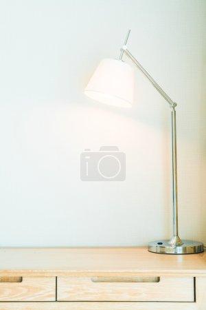 Light lamp in living room
