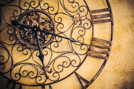 Photo for Old vintage clock, Vintage filter - Royalty Free Image