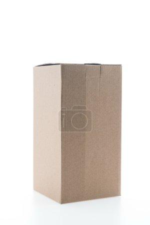 Brown paper box