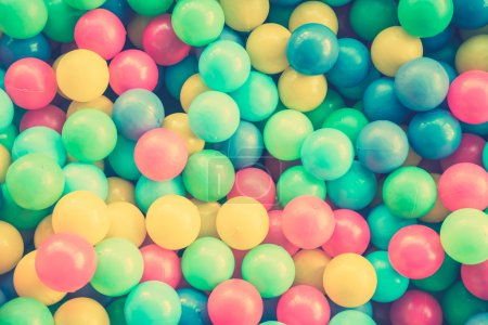 Colorful balls textures