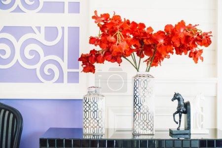 Beautiful Vase flower living room