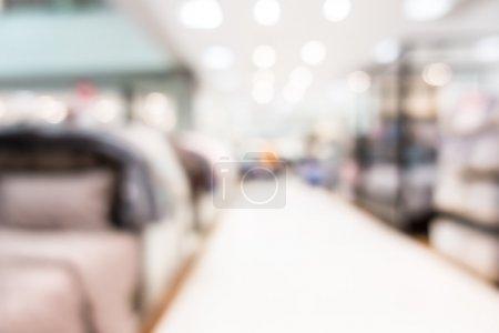 blur superstore and shopping mall