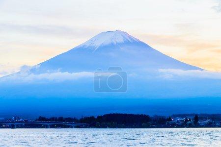 Mountain at Lake kawaguchiko