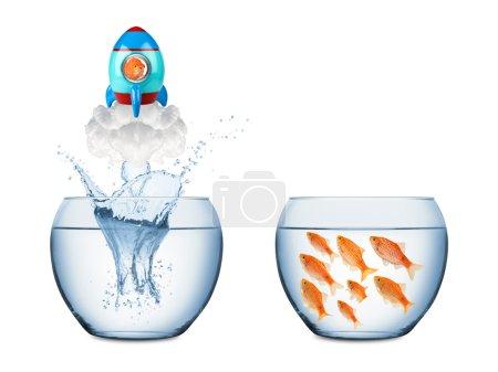 fish rocket concept
