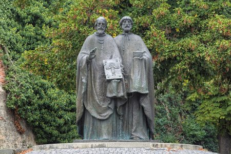 Sculpture of Saints Cyril and