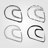 Logo for motorsports in different effects