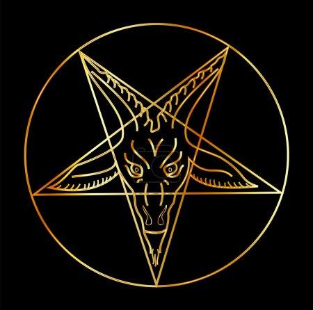 The Golden sigil of Baphomet...