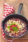 Berry rozpadat s jahody a maliny