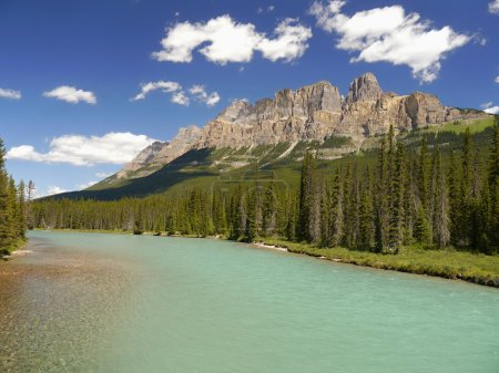 Castle mountains - Canadian Rocky Mountains