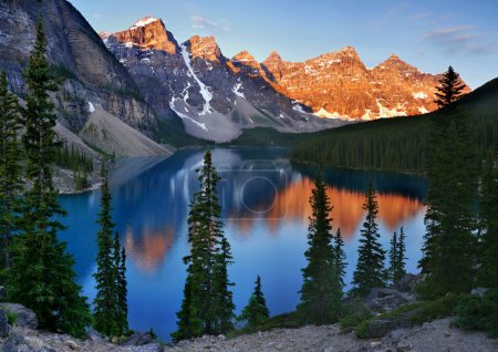 Photo for Moraine Lake at Sunrise. Canada - Royalty Free Image