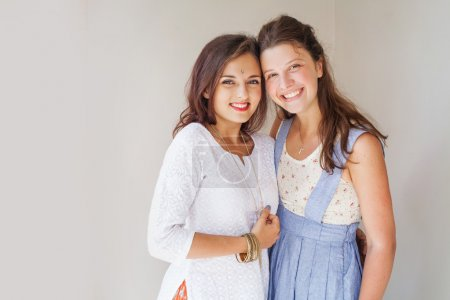 Muslim and christian girl together