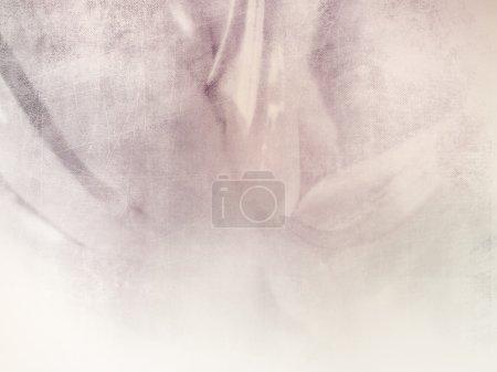 Soft abstract flower background - vintage design