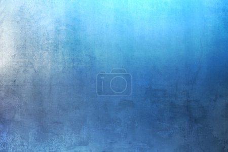 Photo pour Texture de fond bleu clair brillant - style grunge - image libre de droit