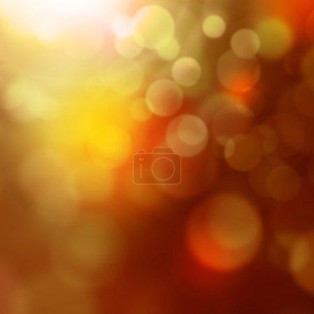 Photo pour Lumières colorées - fond flou abstrait avec effet bokeh - image libre de droit