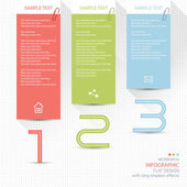 Infographic elements - memo post it notes