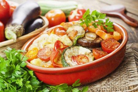 Roasted vegetables ratatouille