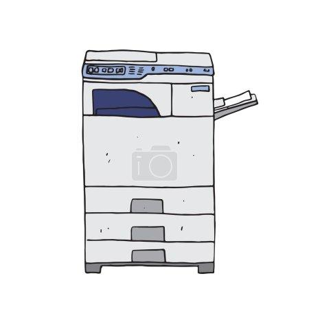 Hi-tech photocopier machine