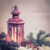 Vánoční lucerny a dekorace