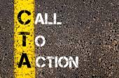 Call To Action mint betűszó Cta