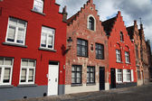 Old Brugges houses, Belgium