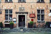 Cosy restaurant in Brugges, Belgium