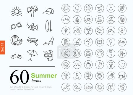 60 summer icons